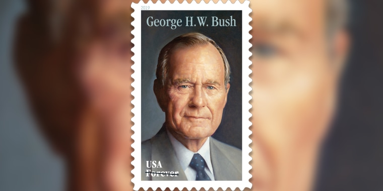 George H.W. Bush stamp