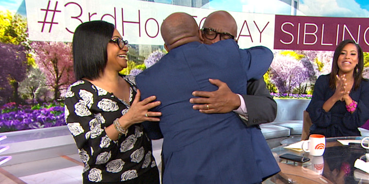 Al Roker's siblings surprise him on air