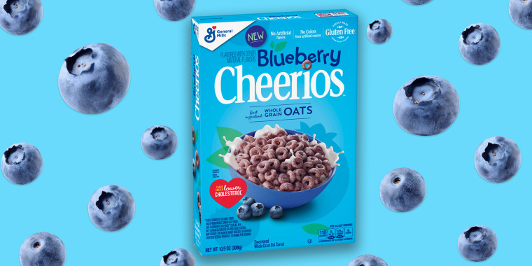 Blueberry Cheerios