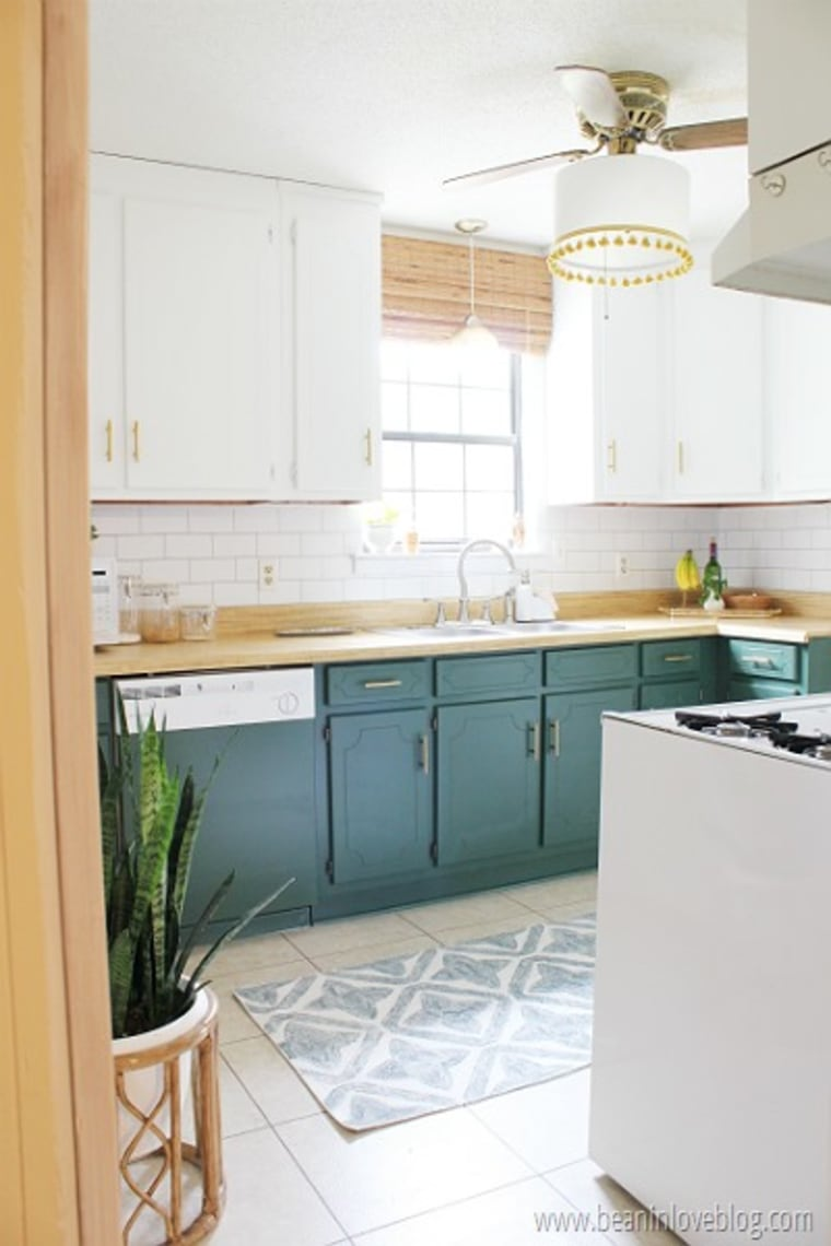 See this kitchen go from dated to delightful after a major ...