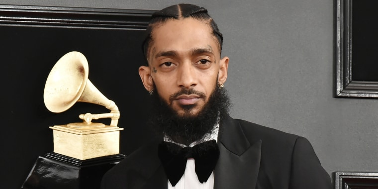 Nipsey Hussle at 61st Annual Grammy Awards