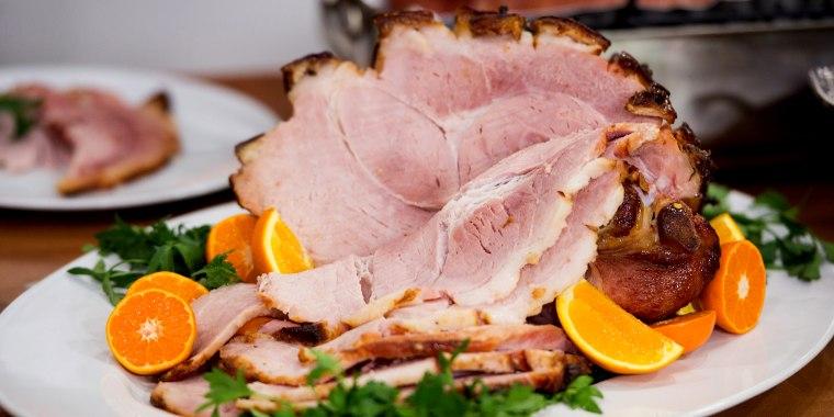 Adam Richman's Flavor Bomb Ham