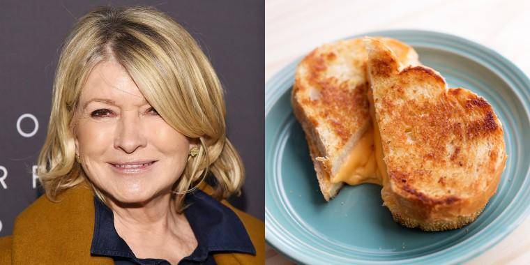 Martha Stewart / Grilled Cheese