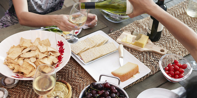 wine and cheese tariff