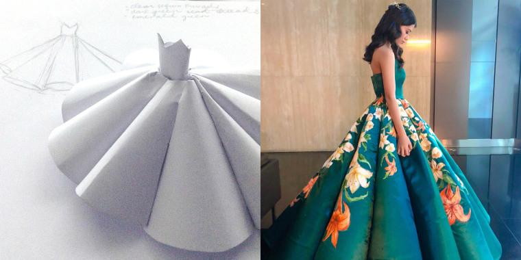Ciara Gan, graduation dress, DIY graduation dress, teen graduation dress