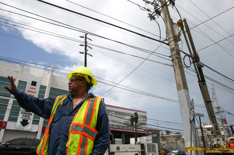 Image: Puerto Rico power outage