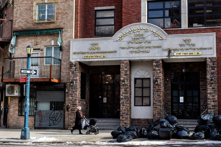 Image: The Yeshiva Kehilath Yakov School, where a measles outbreak infected more than 20 people.