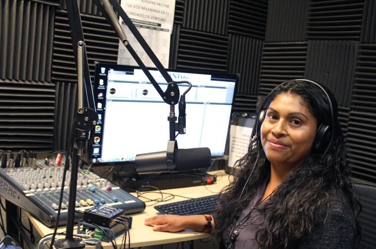 Erika Hernandez, MICOP Community Leader and Radio Indigena DJ