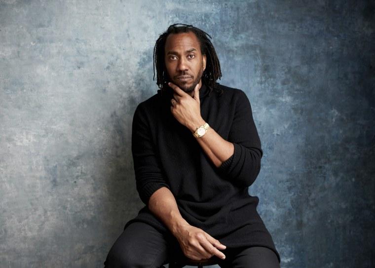 Image: Director Rashid Johnson poses for a portrait at the Sundance Film Festival on Jan. 25, 2019 in Utah.