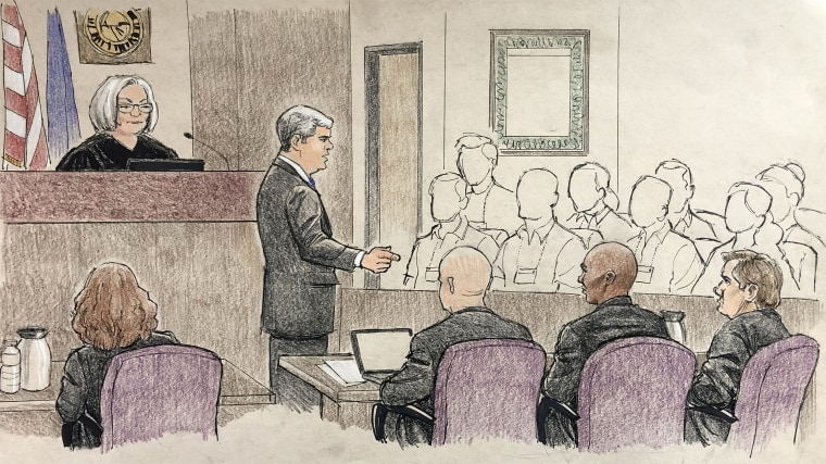 Image: Opening Statements, Mohamed Noor