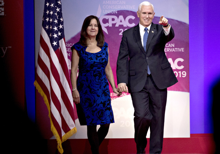 Image: Mike Pence and Karen Pence