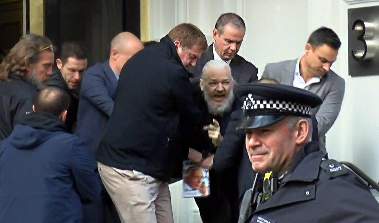 Image: Julian Assange WikiLeaks