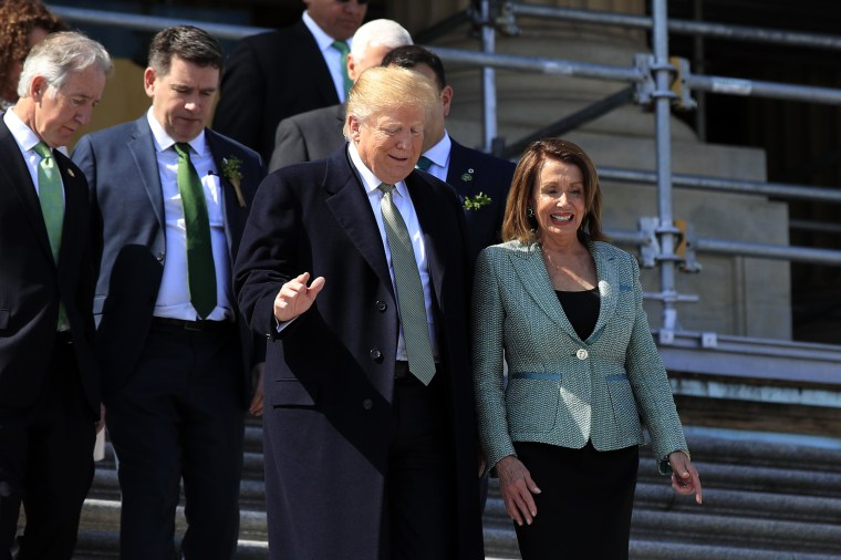 Image: Donald Trump, Nancy Pelosi
