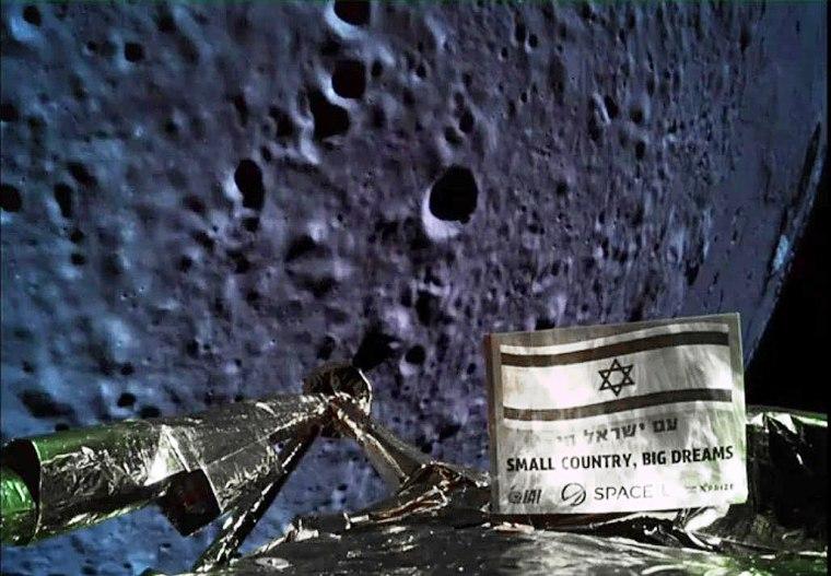 Image: ISRAEL-MOON-SPACE
