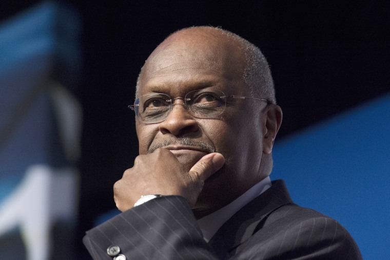 Herman Cain speaks during Faith and Freedom Coalition's Road to Majority event in Washington on June 20, 2014.