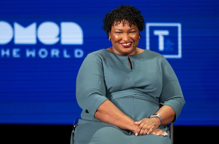 Stacey Abrams says not beating Trump, but 'winning America' is key to 2020 success