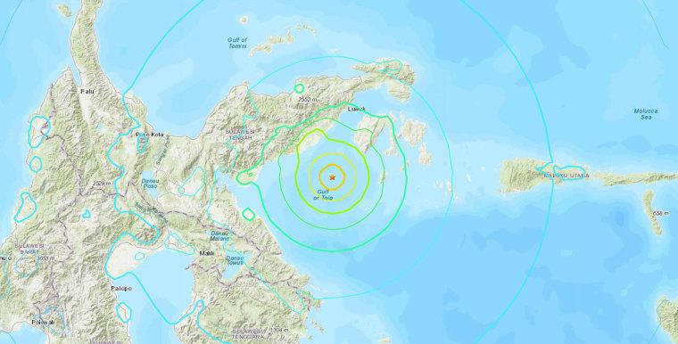 Image: Indonesia earthquake