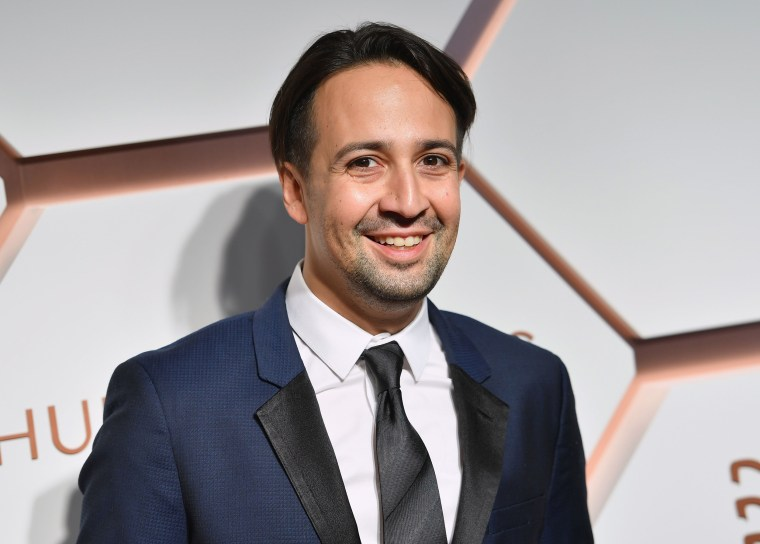 Lin-Manuel is 'in love' with t...