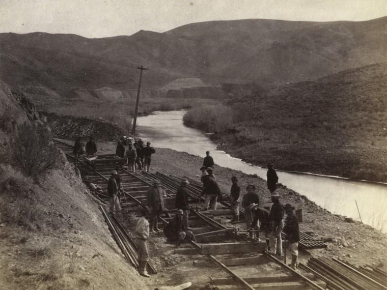 chinese railroad laborers