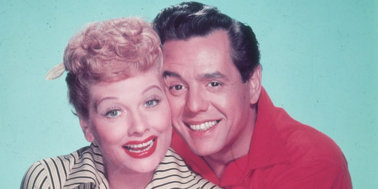 Lucille Ball and Desi Arnaz home