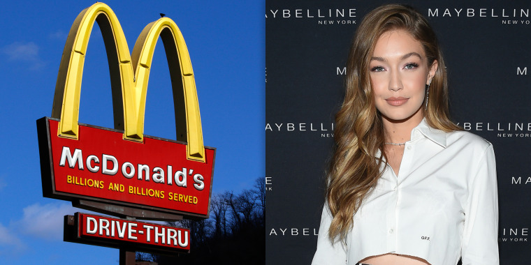 Gigi Hadid shamed for partnership with McDonald's: 'You're promoting unhealthy, bad quality food'