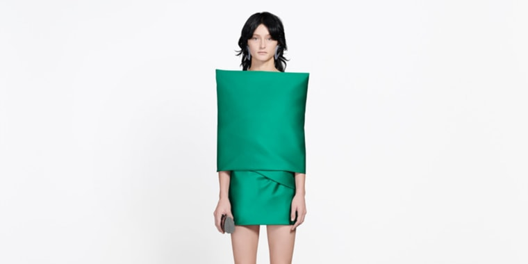 Balencia's 'couch cushion' dress
