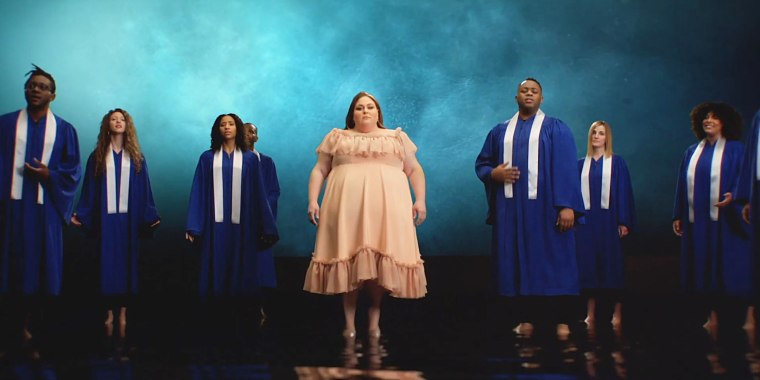 Watch Chrissy Metz sing her heart out in her music video 'I'm Standing With You'