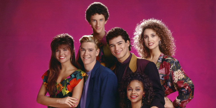 "Cast of ""Saved by the Bell"""