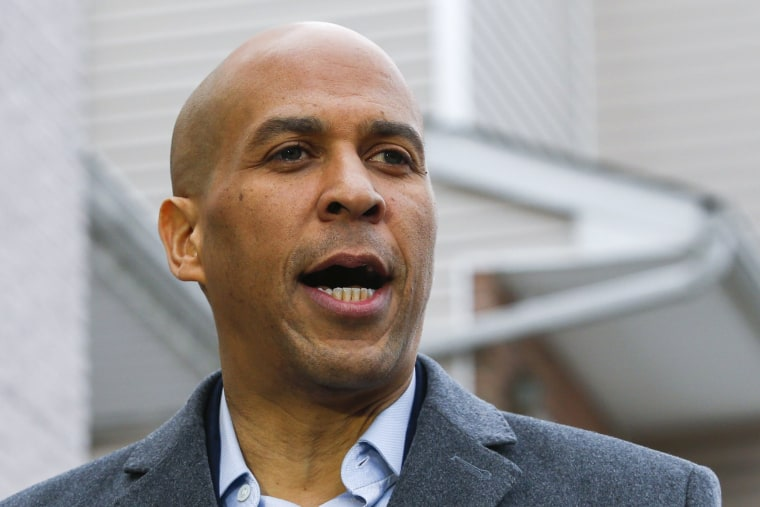 Image: Sen. Cory Booker (D-NJ) Announces Presidential Bid