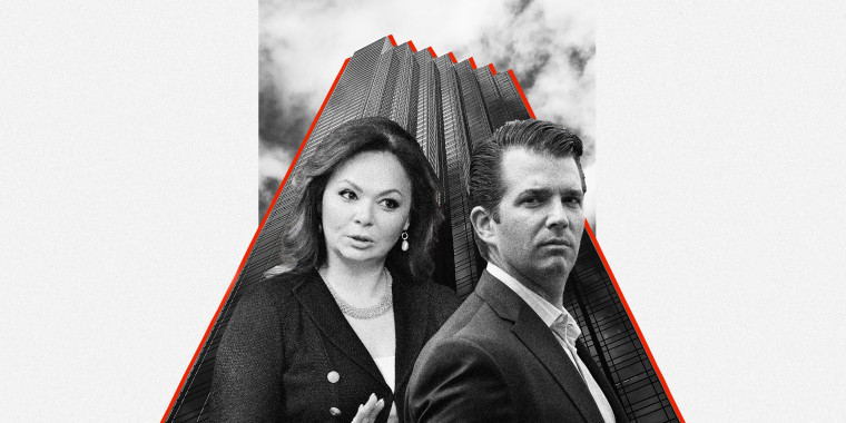 Image: Trump Tower; Natalia Veselnitskaya; Donald Trump, Jr.