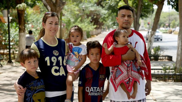 Image: The Perez family.