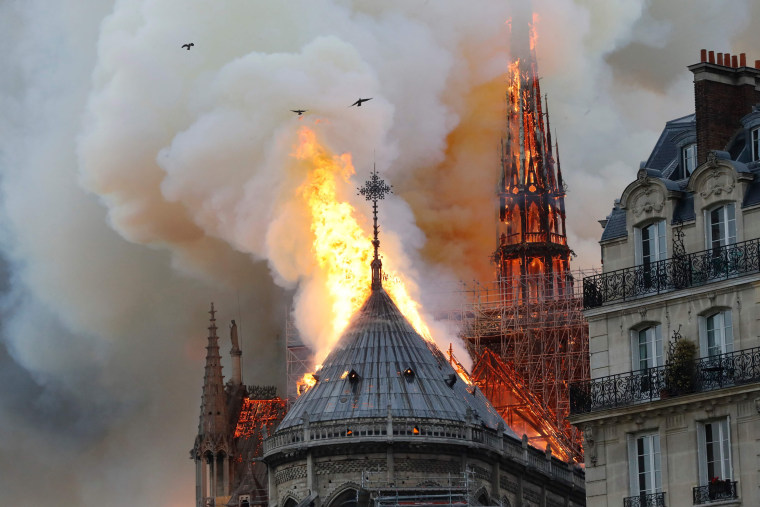 No sign Notre Dame fire was criminal, Paris prosecutor says