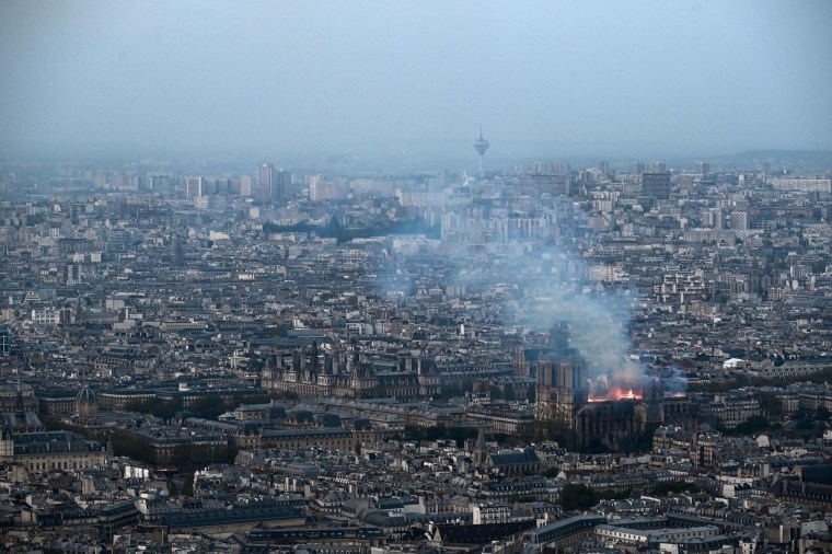 Image: FRANCE-FIRE-NOTRE DAME