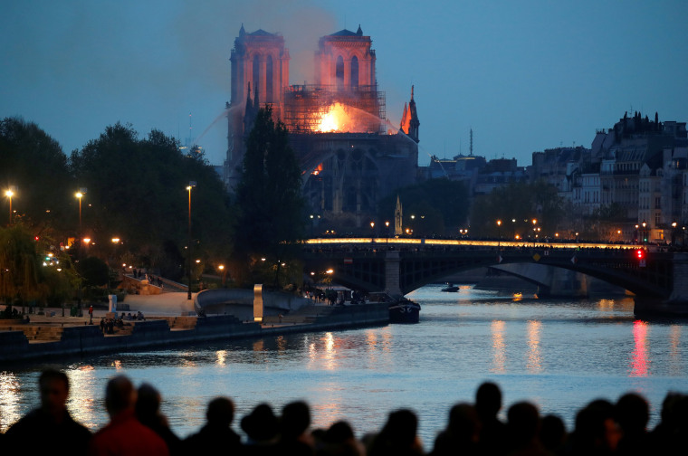 Image: Fire at Notre Dame Cathedral in Paris
