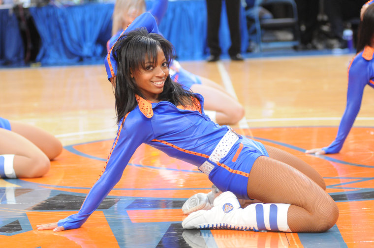 Erin Carpenter was a dancer for the New York Knicks from 2007-2009.