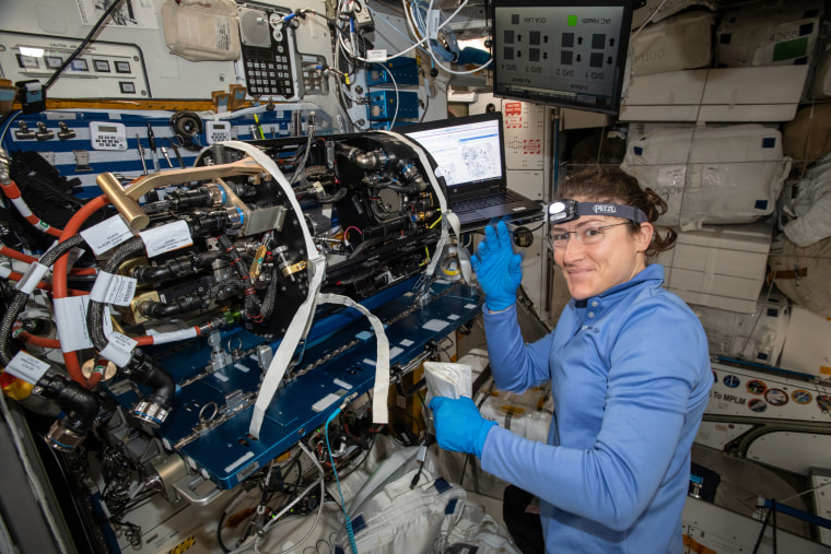 NASA astronaut Christina Koch aims for record-setting space mission