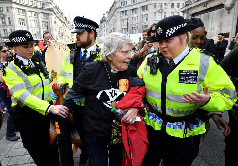 Image: Extinction Rebellion Climate Protests