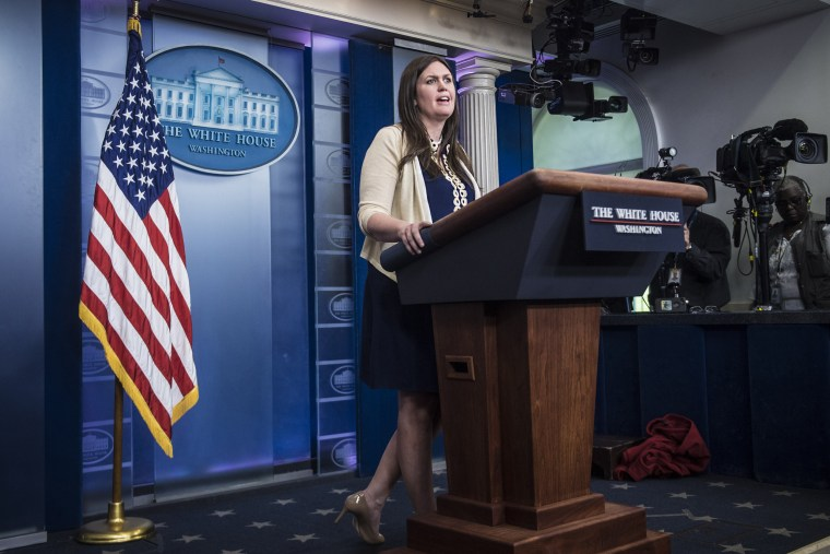 Mueller report reveals Sarah Sanders lied for Trump. It's time for her to resign.