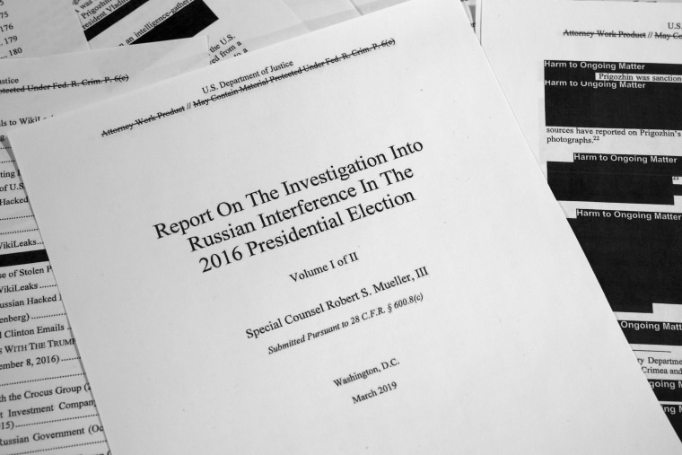 Voters relieved, but unmoved, after Mueller report release