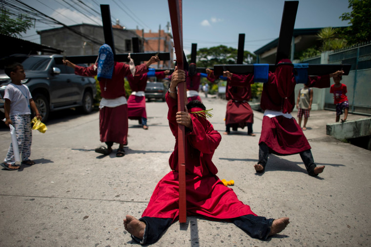 Image: PHILIPPINES-RELIGION-CHRISTIANITY-EASTER