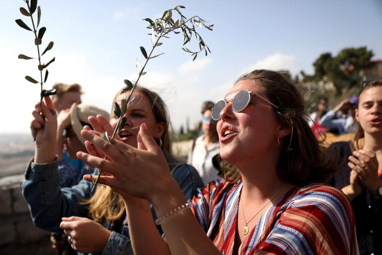 Image: ISRAEL-PALESTINIAN-RELIGION-CHRISTIANITY