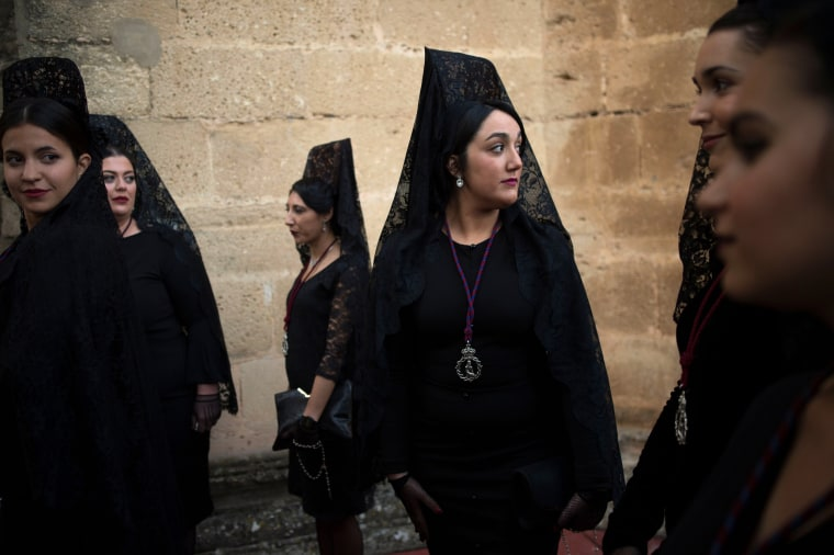 Image: SPAIN-RELIGION-HOLY-WEEK-EASTER