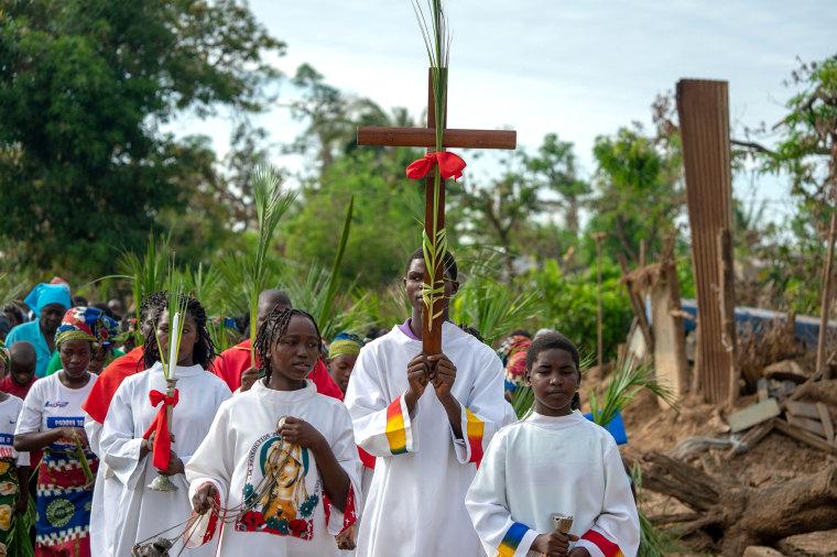 Image: MOZAMBIQUE-PALM-SUNDAY-CYCLONE