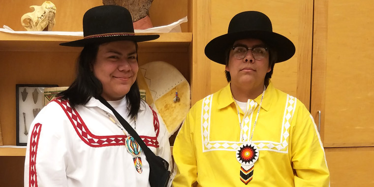 Native American student