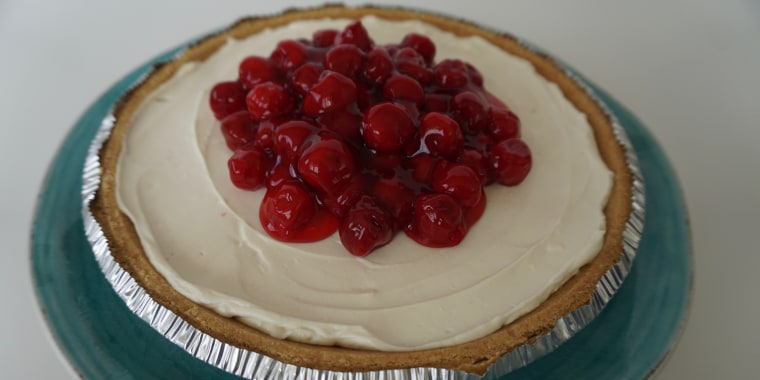 This no-bake cheesecake takes minutes to make and spends the rest of the time firming up in the fridge.