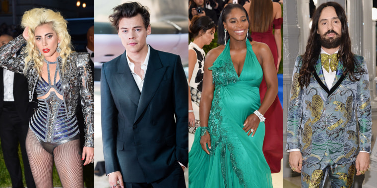 Lady Gaga, Harry Styles, Serena Williams and Alessandro Michele