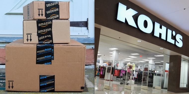 Kohl's is accepting Amazon returns starting in July 2019
