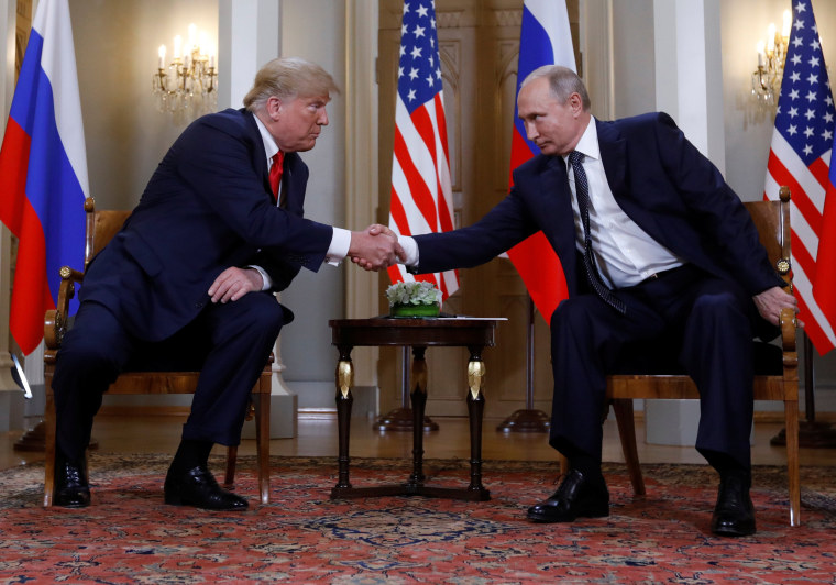 Image: Trump-Putin summit in Helsinki