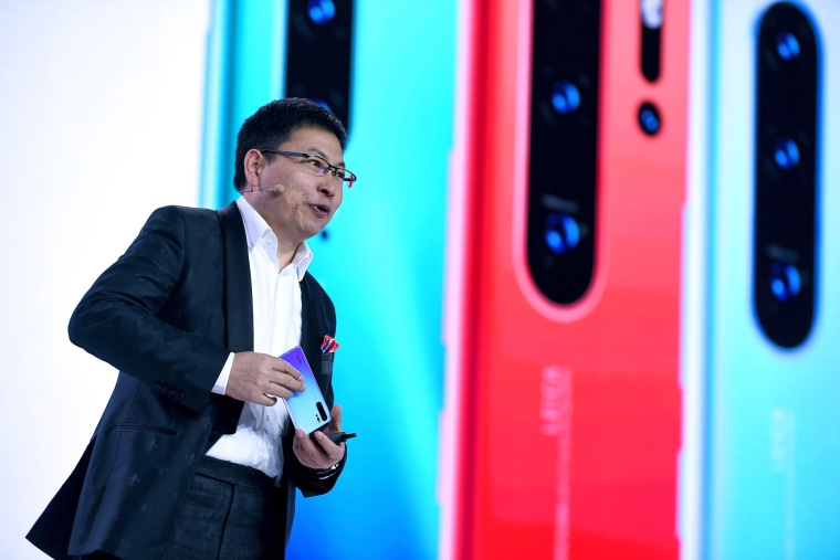 Image: Chinese Telecom equipment company Huawei Consumer Products division CEO Richard Yu