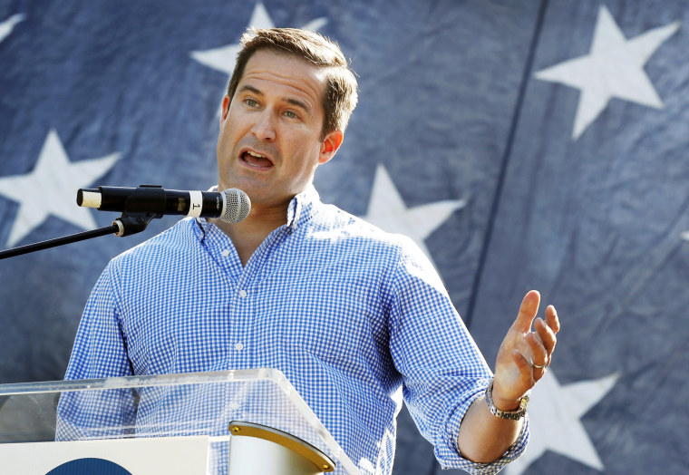 Presidential hopeful Seth Moulton offers burger-and-beer plan for space alien invasion
